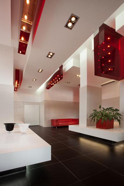 עיצוב לובי של בניין